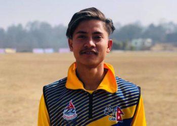 प्रधानमन्त्री कप क्रिकेट: नवलपुरका विशालको ह्याट्रिकसँगै गण्डकीको पहिलो जित